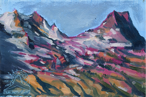Sticker: Sperry Glacier