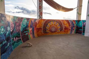 Mandala Sunset Over Amazon
