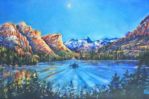 Canvas Print: Wild Goose Island Sunrise