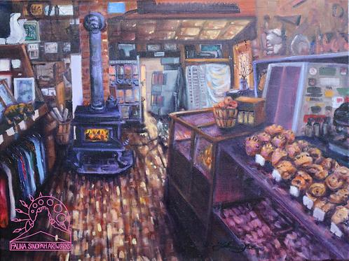 Fine Art Print: Mercantile Interior