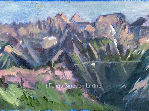 Fine Art Print: Garden Wall from Heaven's Peak