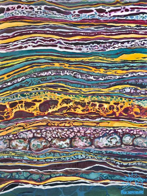 Canvas Print: Stone Inspiration No.1