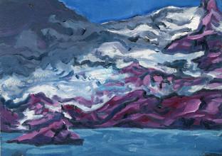 Sperry Glacier Over Meltpool