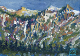 Avalanche in Spring