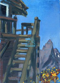 Scalplock Lookout and St. Nicholas Peak