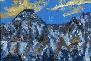 Winter Light on Summit