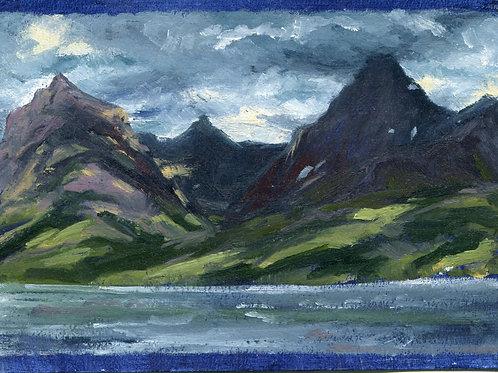 Sun Dappled Brown, Little Matterhorn and Edwards Mountains