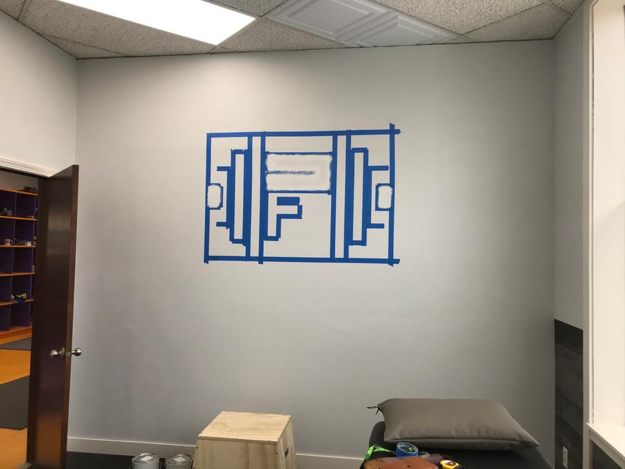 Physio Forge Logo progress shot 1