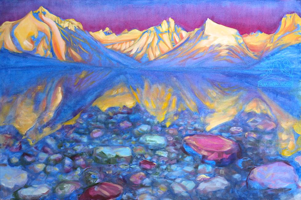 Alpenglow on Lake McDonald
