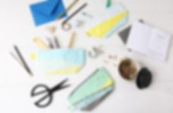 Kosmetiktaschen mit Kassettenmotiv, Schnauzmotiv oder Kameramotiv im Retrostyle!