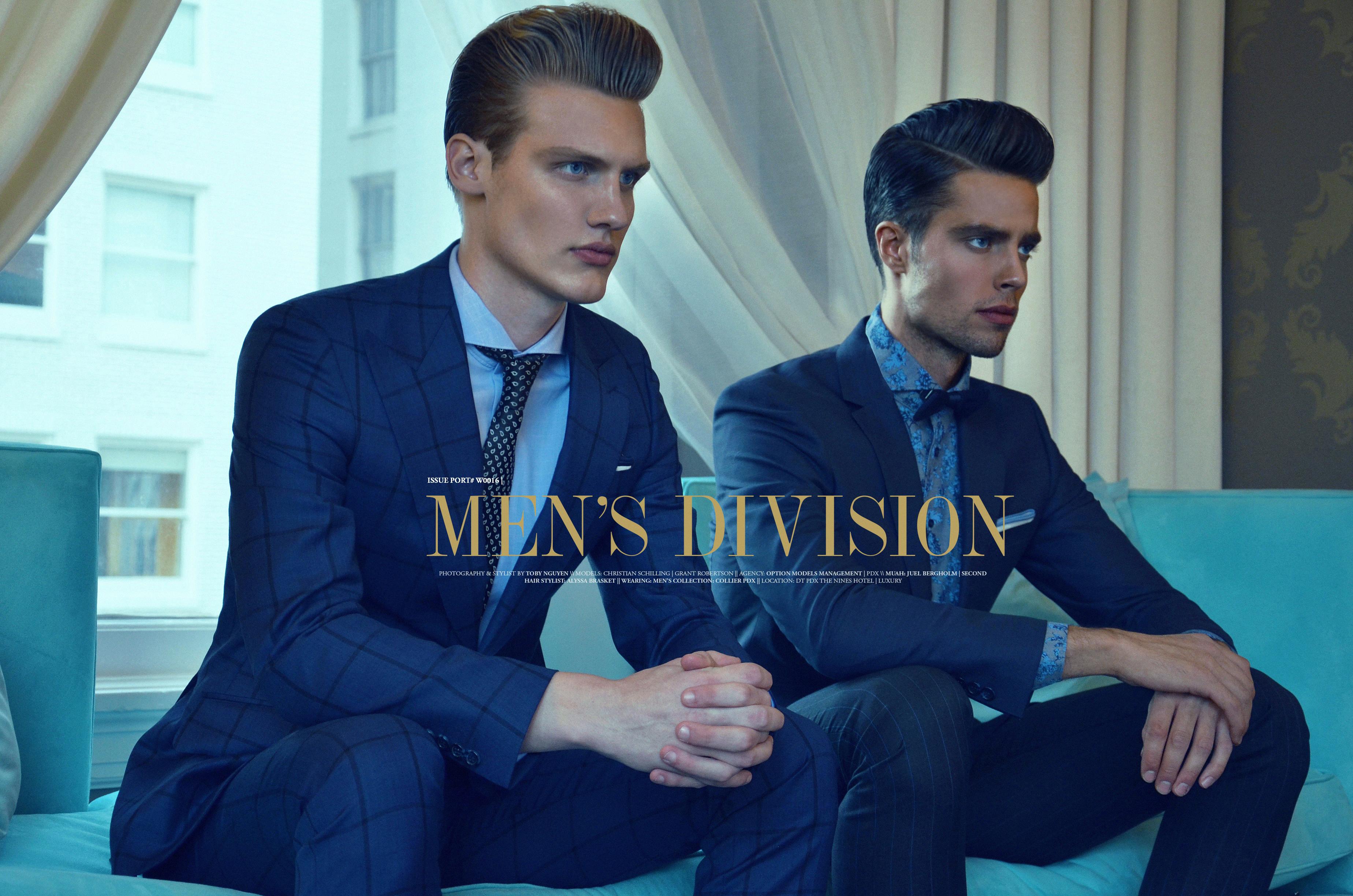men's division
