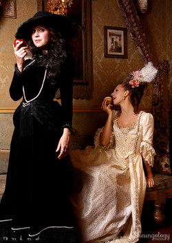 Marie Antoniette and Street Girl