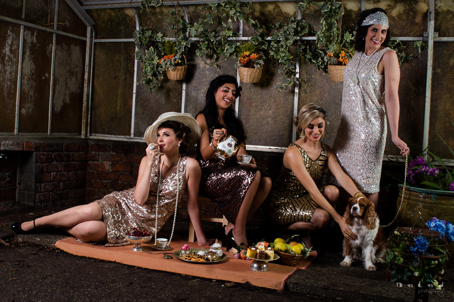 1920's Frozen Tea party