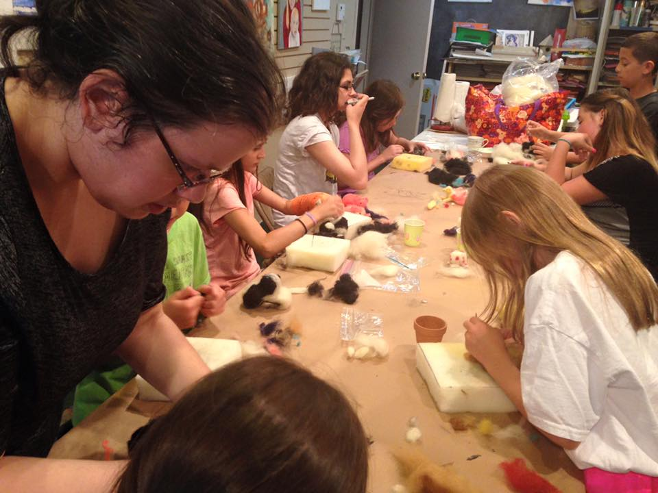 Needle Felting Camp
