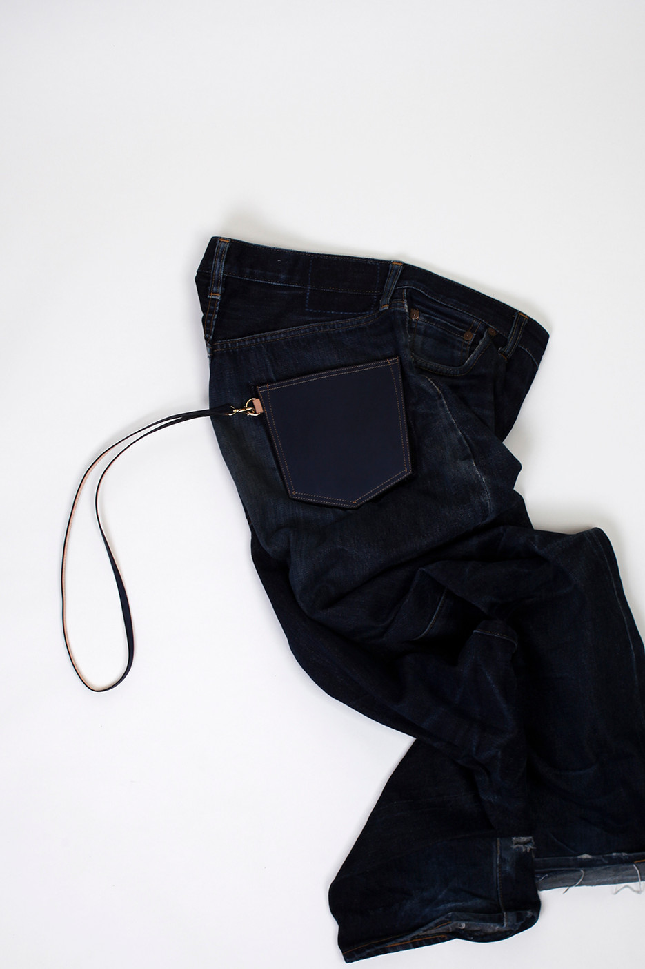 The Purse of jeans back Pocket