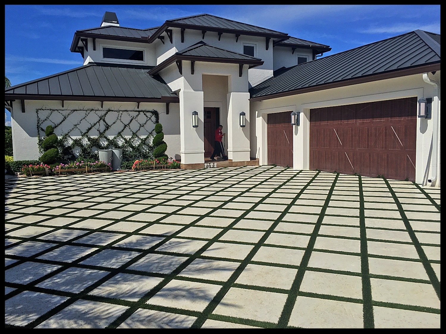Paver Design and Artificial Turf