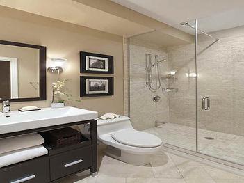 Bathroom Remodel, Frameless shower doors