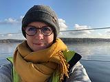 beim segeln und entspannen auf dem Wannsee
