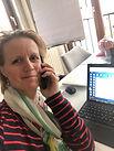 Zoe Schlär am Telefon