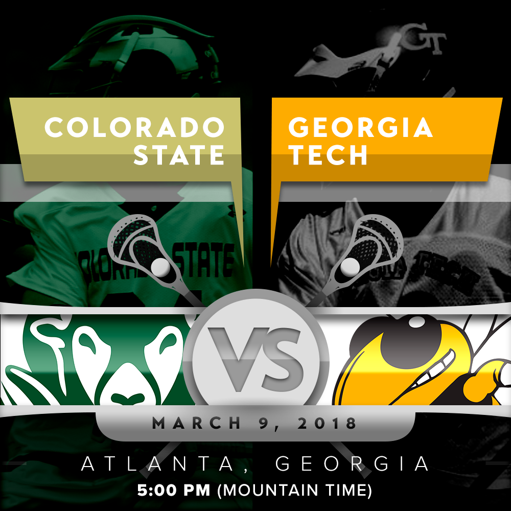 CSU vs GT March 9th, 2018 @ 5:00 pm Mountain Time (Click Here for Live Feed)