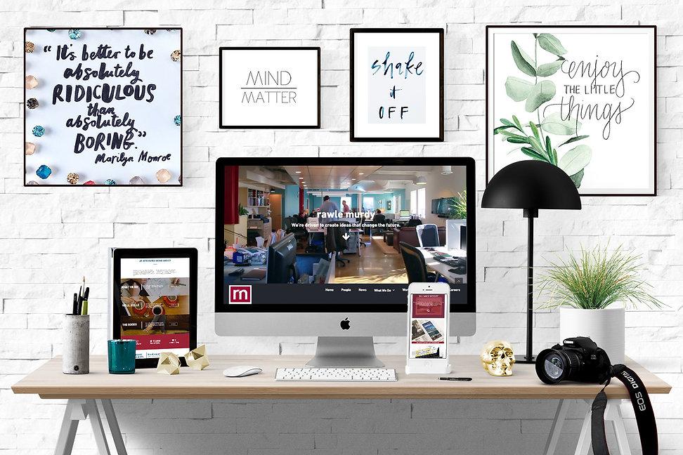 Ellie Platt, Rawle Murdy, Rawle Murdy website design, advertising agency
