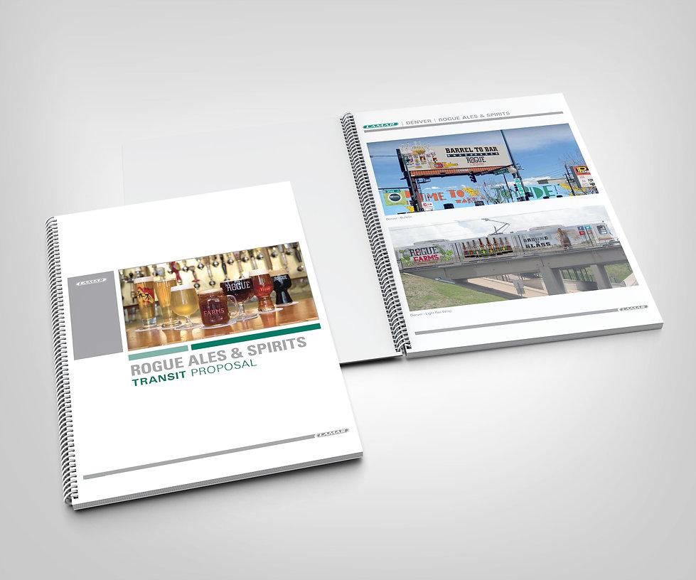 Lamar Advertising, Transit, Rogue Ales & Spirites, transit design