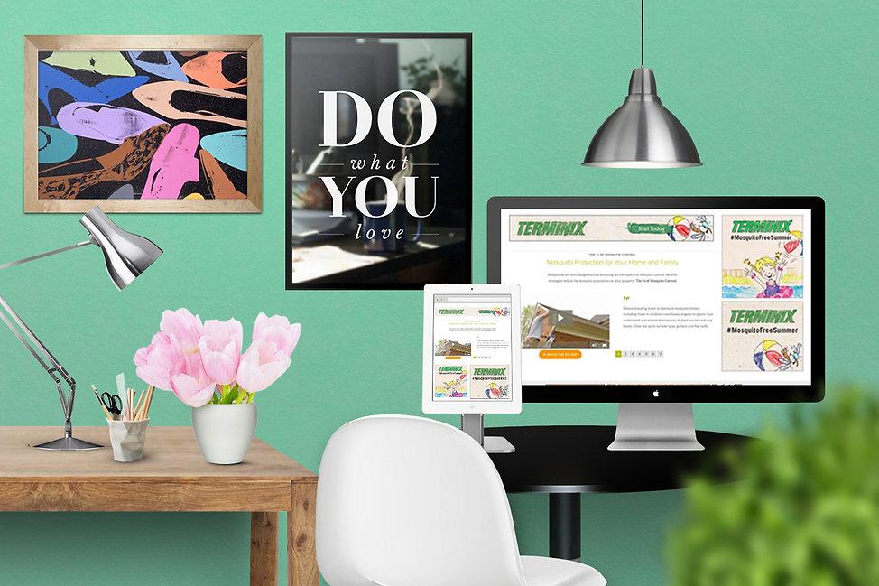 Ellie Platt, terminix, google ad design
