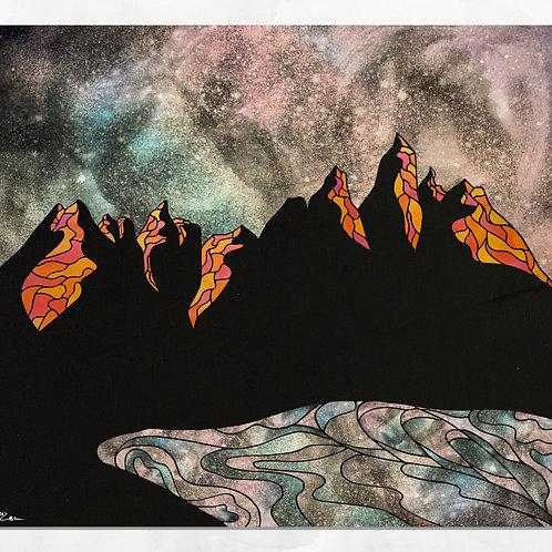 """Wind River"" Print"