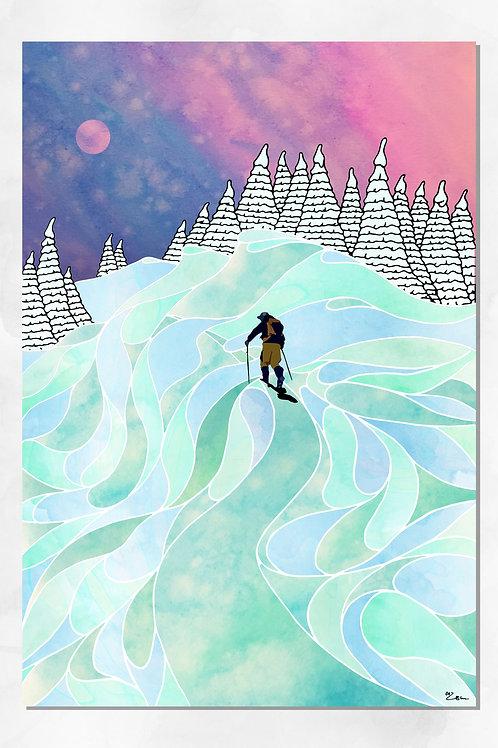 """Teton Pass"" Print"