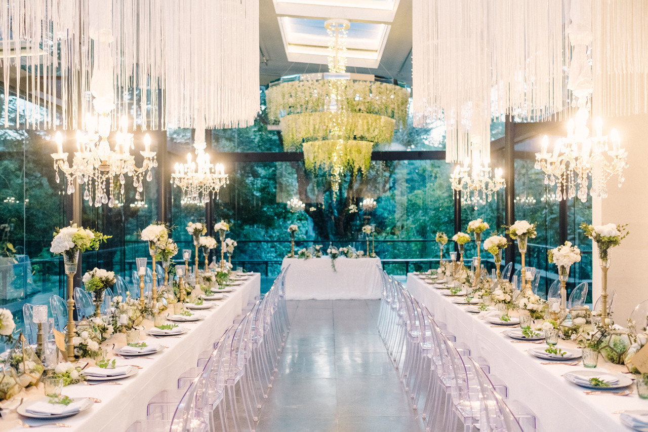 Glamorous Dinner Reception