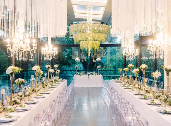 Glamorous Dinner Reception