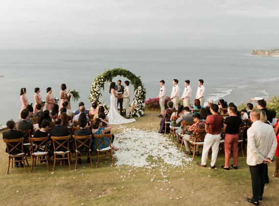 Veena & Yuchen's ceremony