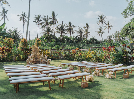 Ceremony benches