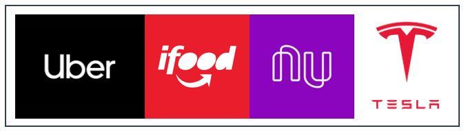 Logotipo de empresas inovadoras do século XXI