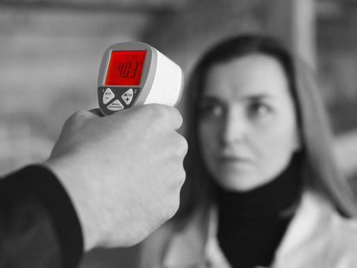 5 causas da medição incorreta de febre por infravermelho