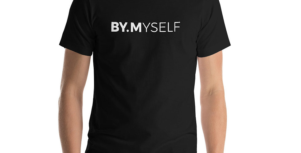Black t-shirt BY.MYSELF