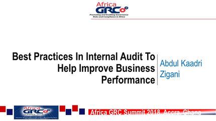 Expert Talk  Mr. Abdul Kadri Zigani, Head, Internal Audit, Public Procurement Agency.jpg
