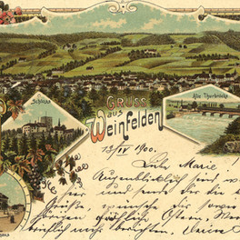 08. Januar 2020 Postkarte um die Jahrhundertwende