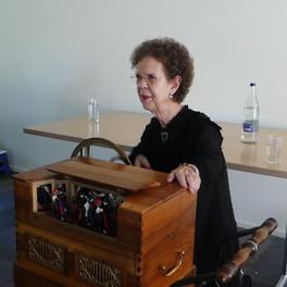 Markus Bürgler an der Orgel und ein Blick in den Saal