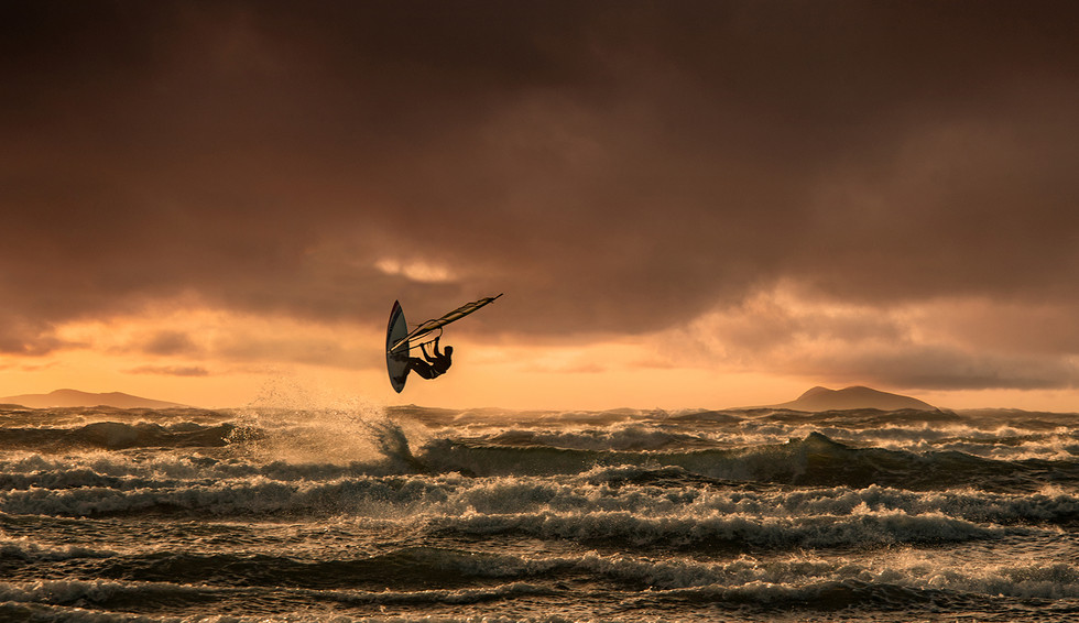 PDI - Surfing the Sunset by Roger Eager (11 marks)