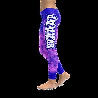 BRAAAP PINK & BLUE LEGGINGS