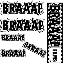 Braaap Stickers