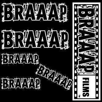 BRAAAP STICKER PACK