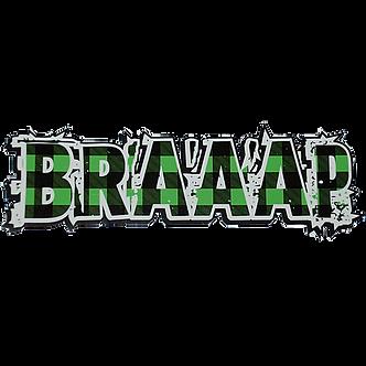 BRAAAP GREEN PLAID