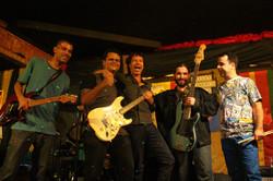 A banda junto com Wilmar Silva