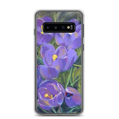 Spring Crocuses Samsung Case