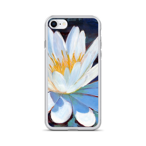 Sun on a Waterlily iPhone Case