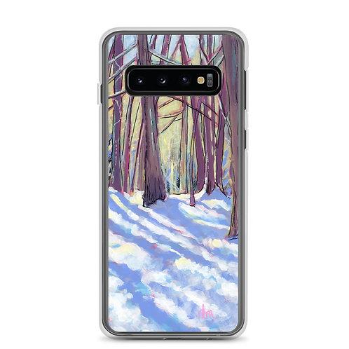 Winter Afternoon Walk Samsung Case