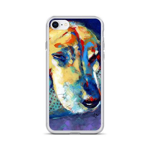 Sleepy Hound iPhone Case