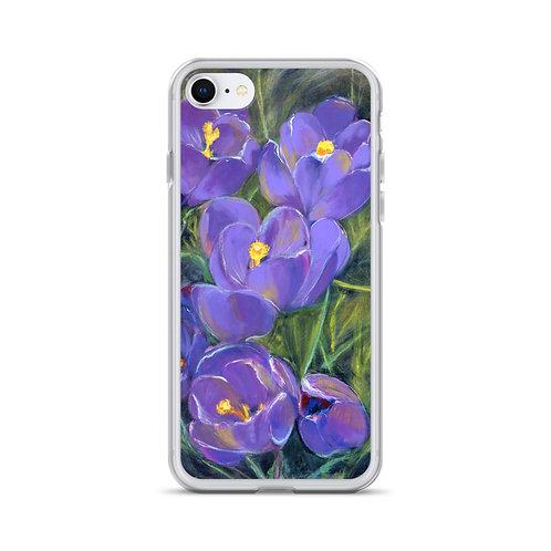 Spring Crocuses iPhone Case
